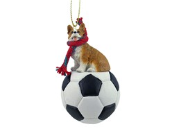 Welsh Corgi Pembroke Christmas Sport Ornament