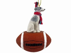 Whippet Sport Christmas Ornament- Click for more breed colors