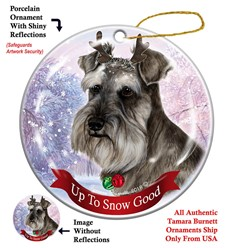 Schnauzer Up To Snow Good- click for more breed options