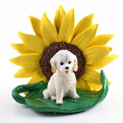 Cockapoo Sunflower Dog Breed Figurine- click for more breed colors