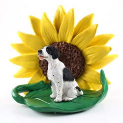 Pointer Sunflower Dog Breed Figurine- click for more breed colors