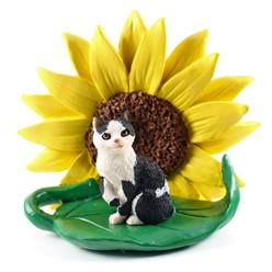 Manx Sunflower Figurine- click for more breed colors