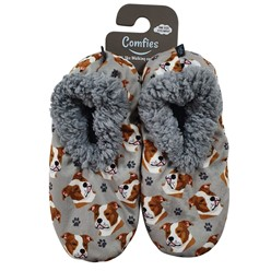 Pit Bull Comfies Dog Print Slippers