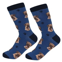 Bullmastiff Pet Lover Socks