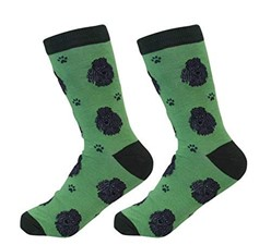 Poodle Black Pet Lover Socks