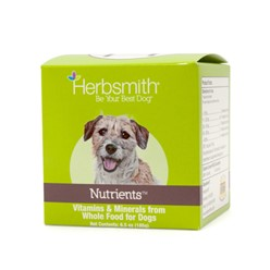 Herbsmith Nutrients Vitamins, Minerals & Antioxidants for Dogs, 2.93 oz