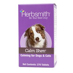 Herbsmith Calm Shen, Calming for Dogs & Cats 270 ct