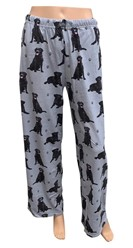 Labrador, Black PJ Bottoms