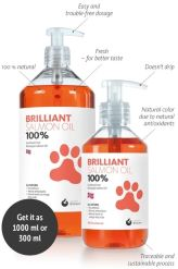 Brilliant Salmon Oil for Dogs & Cats