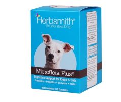 Herbsmith Microflora Plus Probiotic for Dogs and Cats