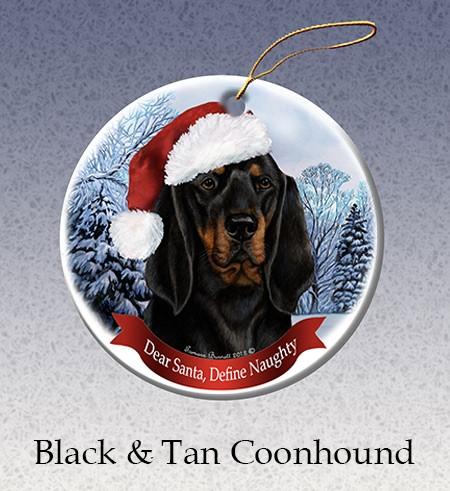 Raining Cats And Dogs Black Amp Tan Coonhound Dear Santa