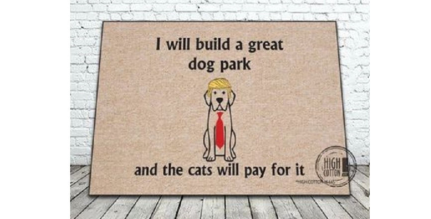 I will build a Dog Park door mat